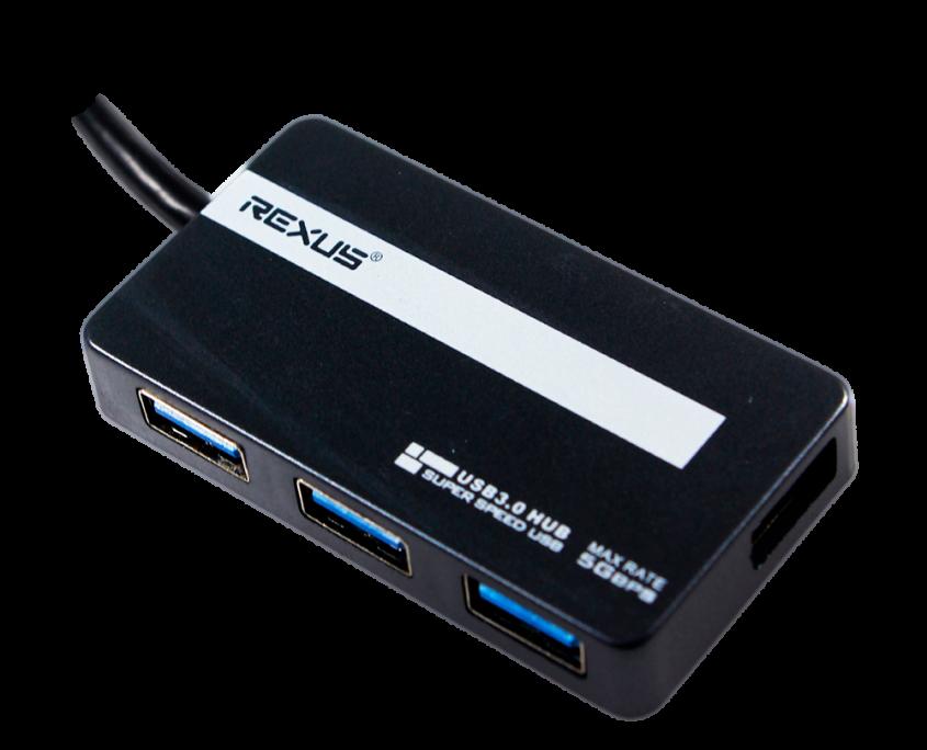rexus rx h313 Rexus RXH 313 – USB HUB 03 13 845x684