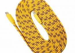 kabel flat hdmi nylon