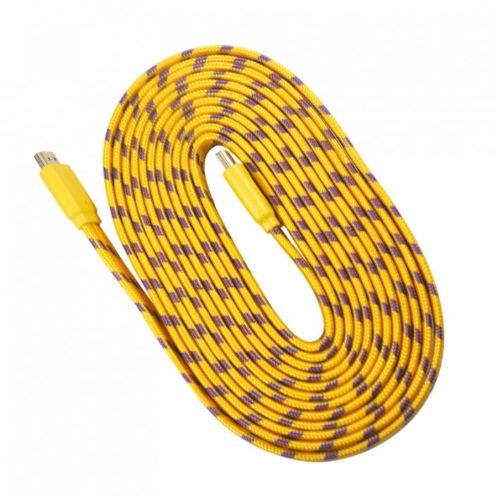 kabel flat hdmi nylon