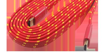 Serat nilon pada kabel kabel nilon Ternyata Ini Alasan Kabel Nilon Masih Dipakai di Mouse dan Keyboard Gaming Thumbnail Features RexusHDMI Nylon 01