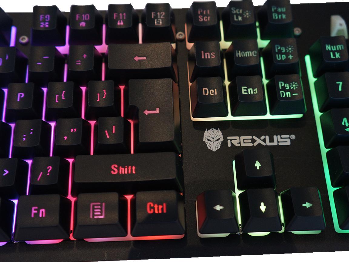 """K9RGB keyboard murah meriah,keyboard kere hore,keyboard rexus fortress k9rgb,keyboard rgb terjangkau,keyboard rexus yang bagus Review Rexus K9 RGB: Fitur Berlimpah dalam Keyboard """"Kere Hore"""" K9RGB l Main image"""