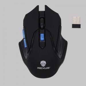 Mouse Gaming Wireless Rexus Xierra S5 Aviator Blue Top