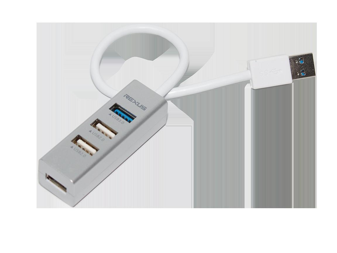 USB HUB RXH-320 usb hub 7  Langkah Memilih USB Hub Terbaik Sesuai Harga RXH 320 03