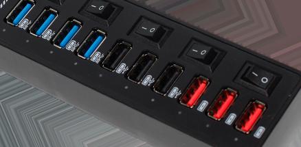 USB Hub RXH322 usb hub Tips Lengkap Mengenali dan Memilih USB Hub yang Bagus dan Awet RXH322 04