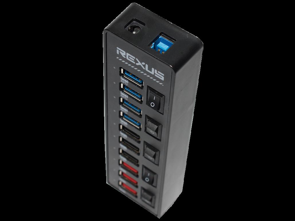 USB Hub RXH322 usb Pakai USB Hub Hard Disk Tidak Terbaca? Ini Penyebab dan Solusinya RXH322 05 1030x773