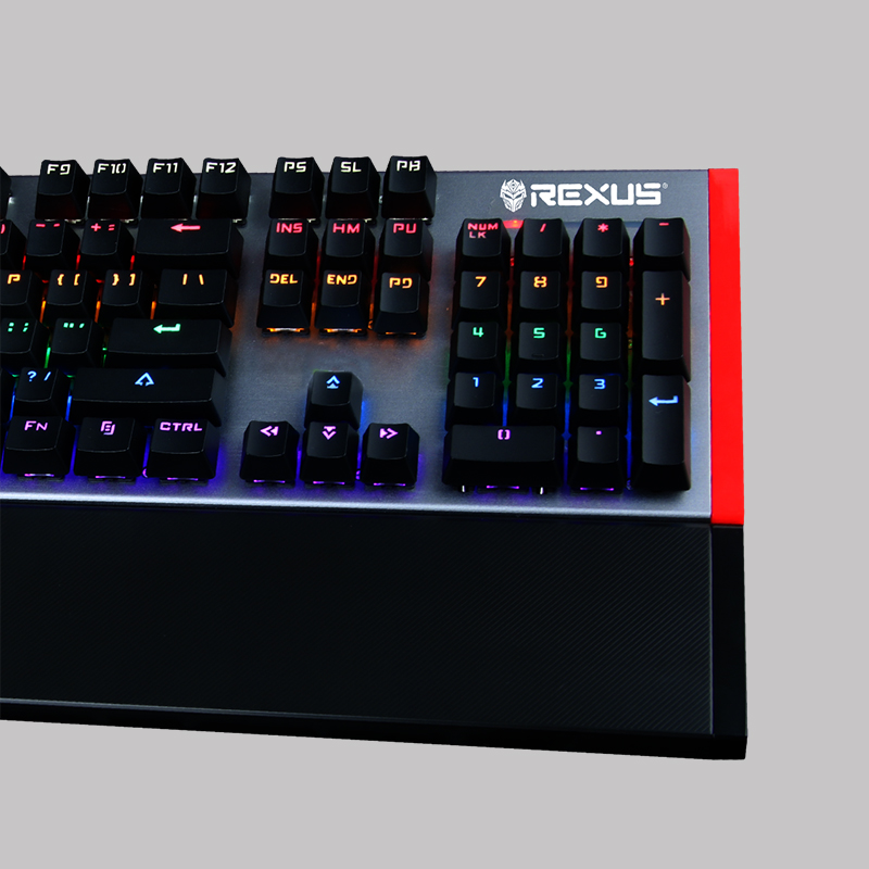 Rexus legionare MX7 keyboard Review Keyboard Rexus MX-7: Real Men Use Real Mechanic Rexus legionare MX7 2