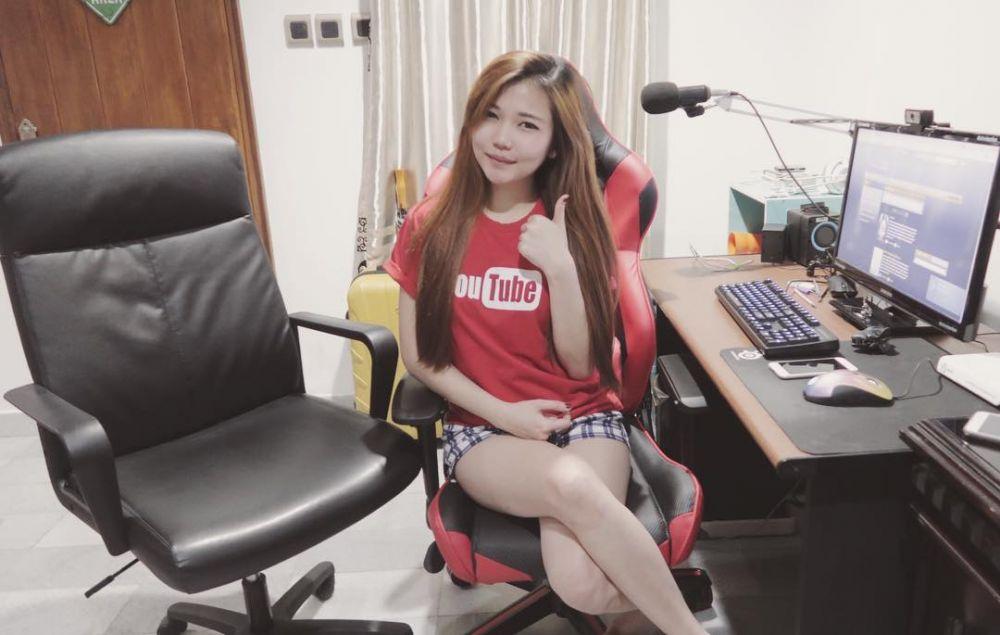 lucie belle nih, daftar cewek gamers indonesia yang bikin gagal fokus Nih, Daftar Cewek Gamers Indonesia yang Bikin Gagal Fokus lucie belle instagram luciecorabelle