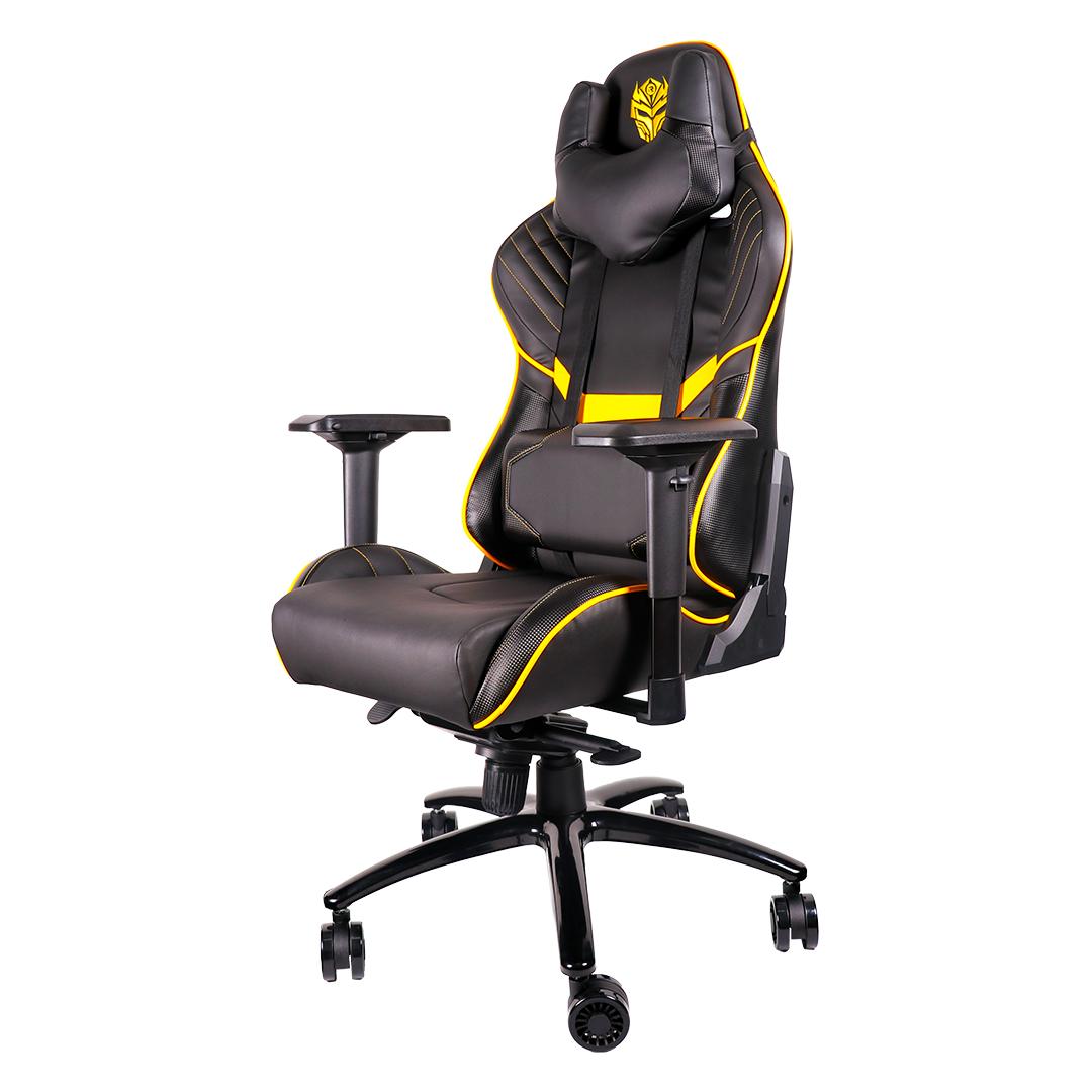 Kursi Gaming Rexus RGC 103 Yellow Side View
