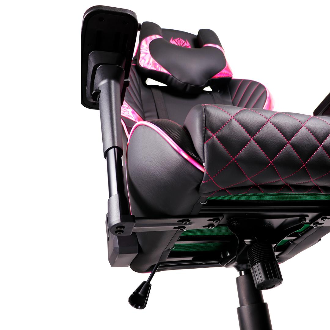 Kursi Gaming Rexus RGC 103 Pink From Below