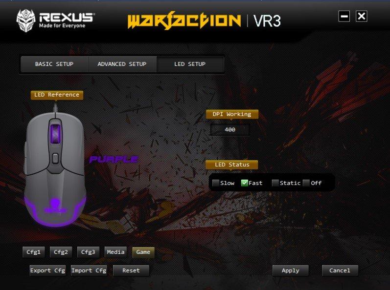 langkah mengatur macro mouse,rexus warfaction vr3, Langkah Penting Mengatur Macro Mouse Rexus Warfaction VR3 softVR3 3