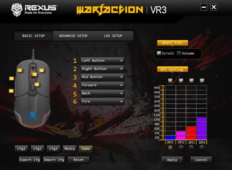 langkah mengatur macro mouse,rexus warfaction vr3, Langkah Penting Mengatur Macro Mouse Rexus Warfaction VR3 softVR3