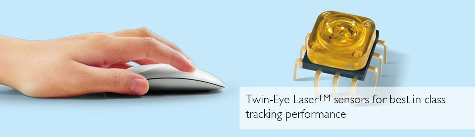 4 merek sensor yang paling sering digunakan di mouse gaming 4 Merek Sensor yang Paling Sering Digunakan di Mouse Gaming twin eye sensors