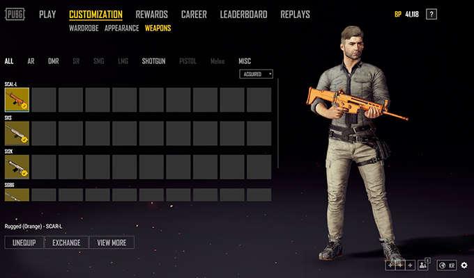 fitur skin senjata di pubg bikin senjata makin sesuai karakter pemain Fitur Skin Senjata di PUBG Bikin Senjata Makin Sesuai Karakter Pemain pubg1