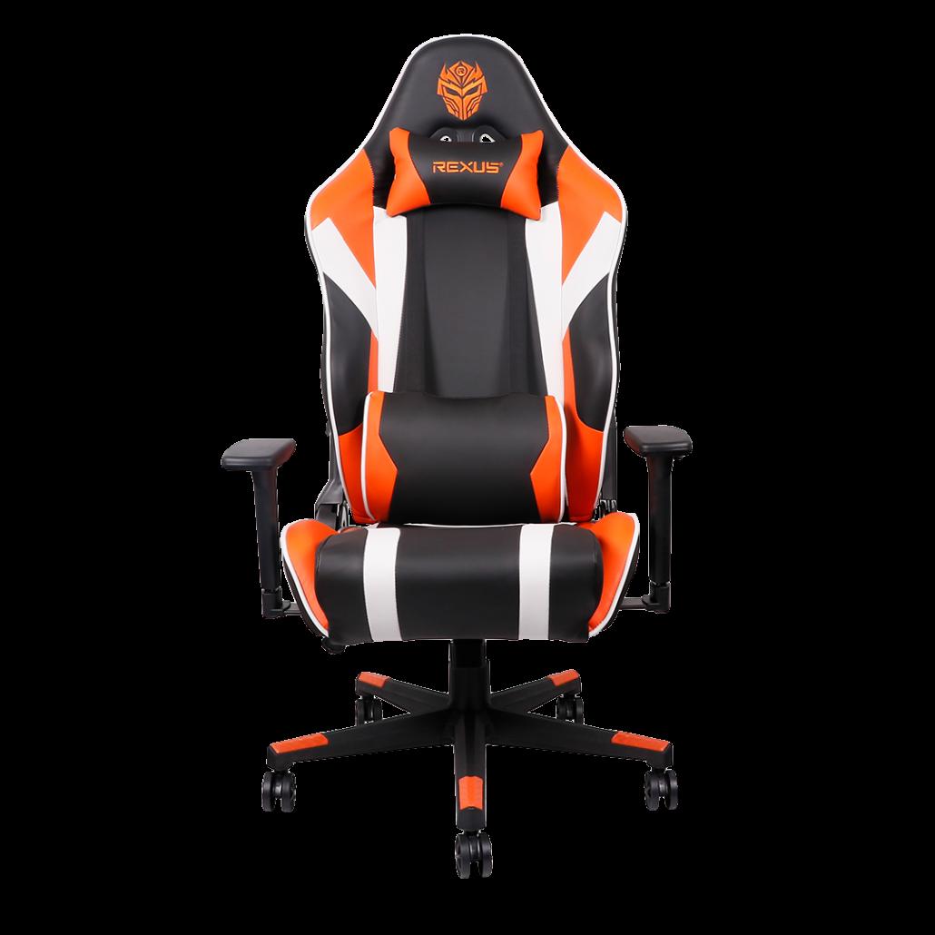 Kursi Gaming Rexus Raceline kursi gaming Kenapa Harus Menggunakan Kursi Gaming Saat Bermain Game? Raceline Orange 01 1030x1030