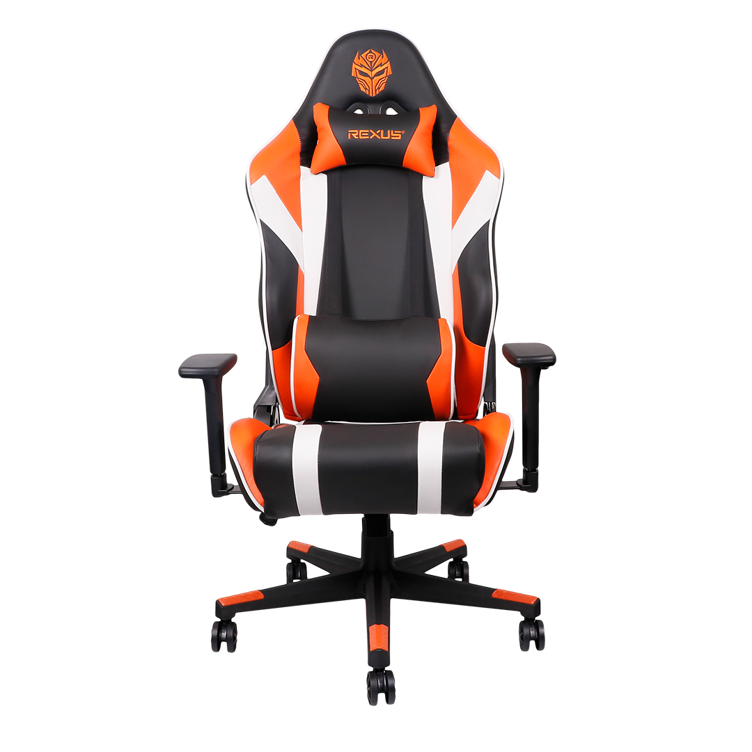gaming Rexus Gaming Chair Raceline Raceline Orange 01