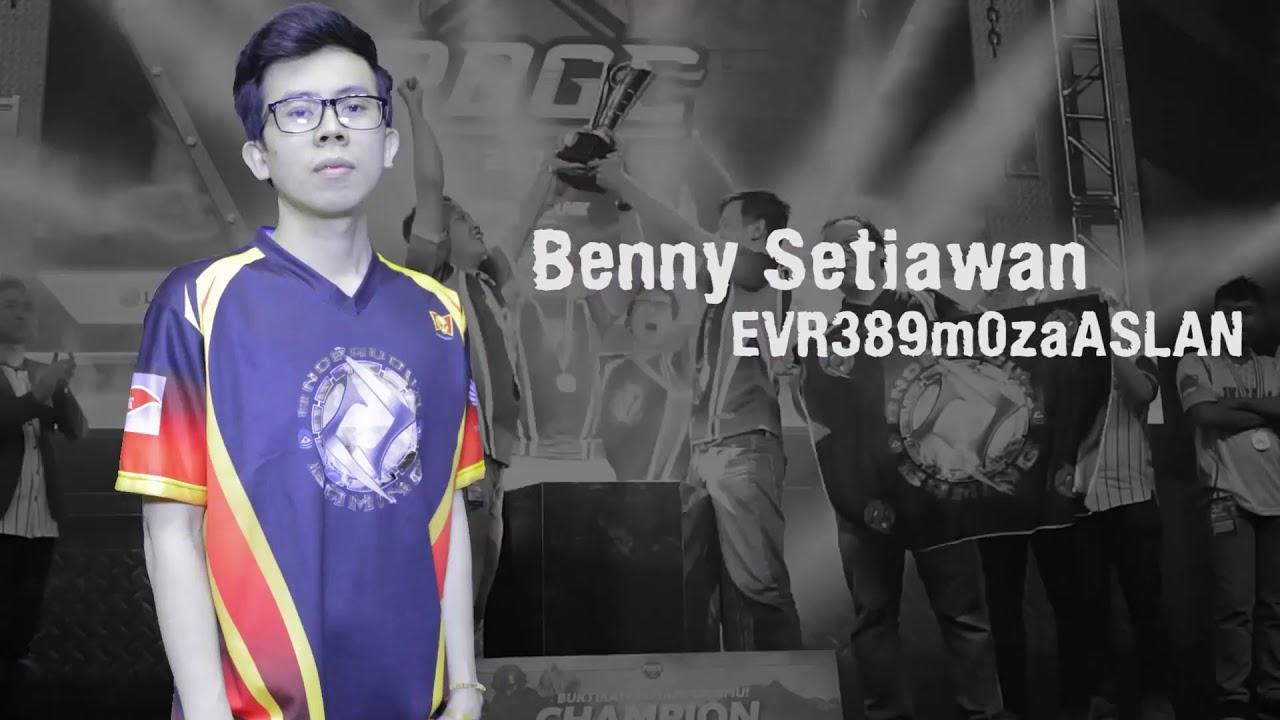 10 pemain e-sports terkaya asal indonesia 10 Pemain E-sports Terkaya Asal Indonesia benny