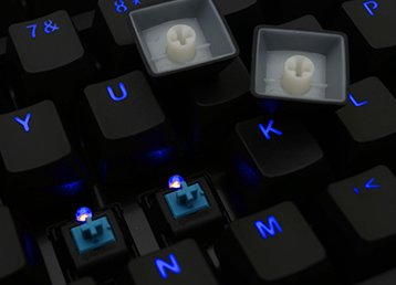 5 kelebihan keyboard mekanikal dengan sensor optik 5 Kelebihan Keyboard Mekanikal dengan Sensor Optik Bikin Nge-game Makin GG optical switch
