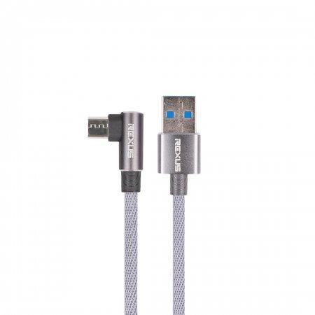 rexus cb135 Rexus CB135 – Data Kabel USB CB135 abu2 micro 450x450