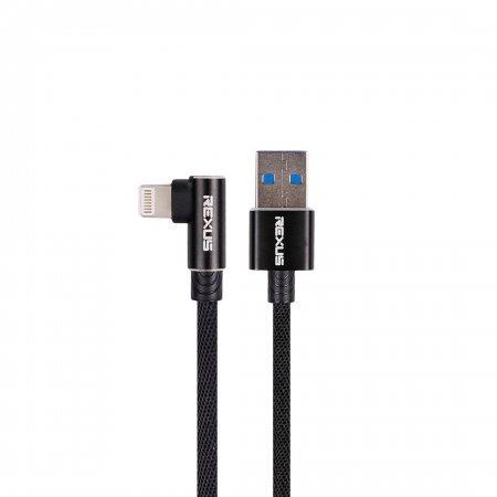 rexus cb135 Rexus CB135 – Data Kabel USB CB135 hitam iphone 450x450