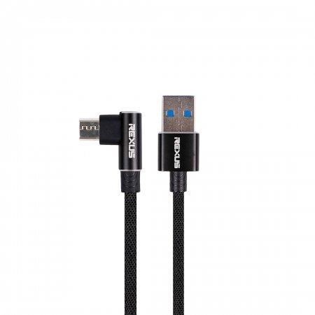 rexus cb135 Rexus CB135 – Data Kabel USB CB135 hitam micro 450x450
