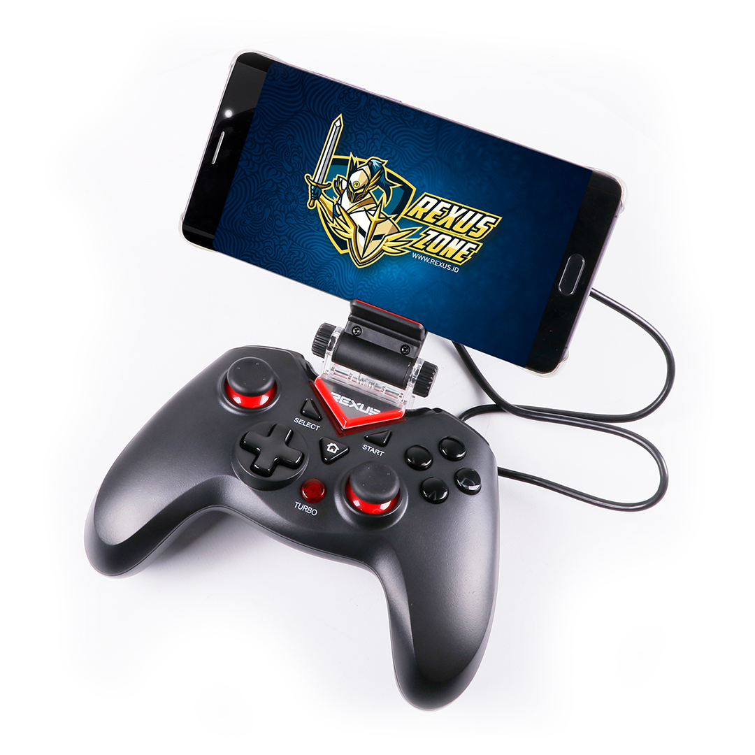 Gamepad Rexus Gladius GX2 + Holder
