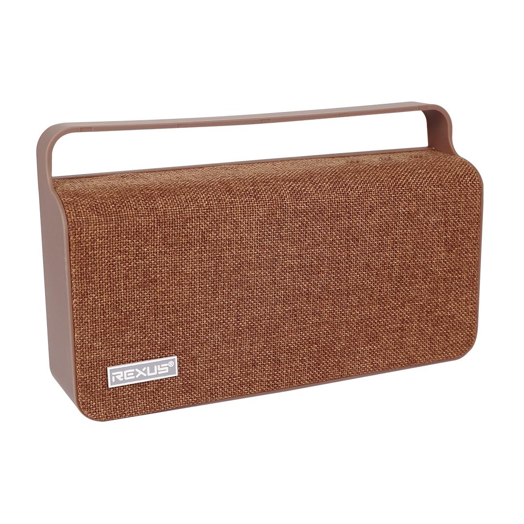 Speaker Rexus C100 Brown speaker bluetooth Rexus C100 c100 coklat