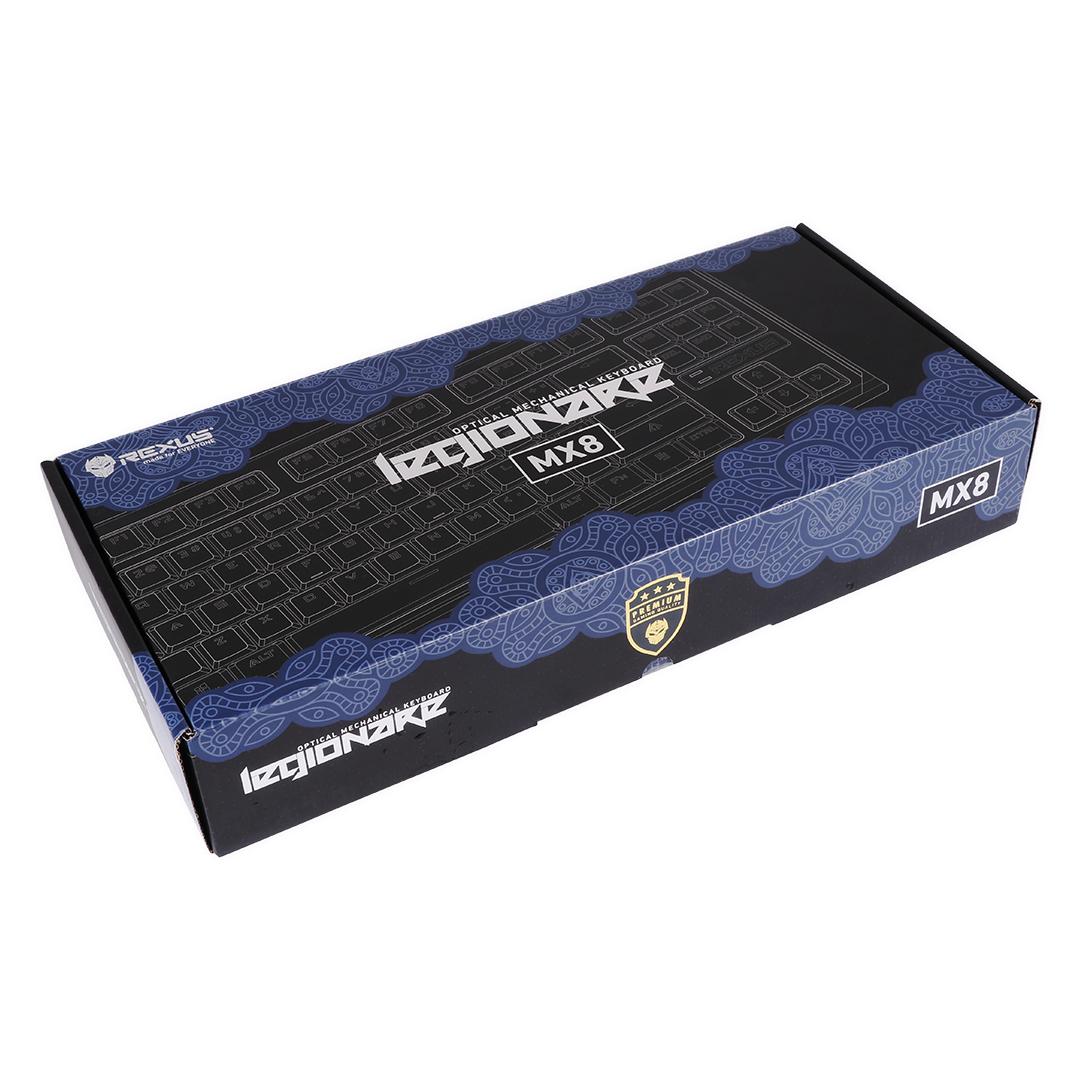 Keyboard Gaming Rexus MX8 Packaging