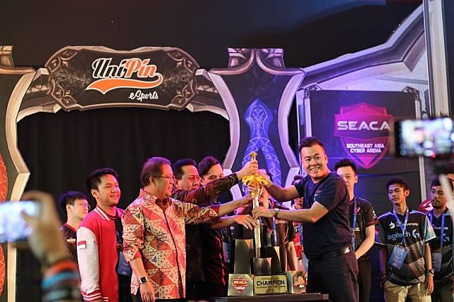 indonesia Indonesia Jadi Tuan Rumah South East Asia Cyber Arena (SEACA) 2018 seaca2
