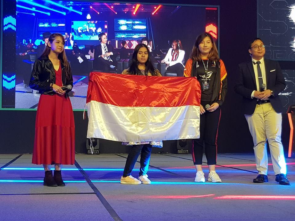 gamer asia tenggara gamer cewek Keren! Gamer Cewek Indonesia Juara di World Elektronik Sport Games 2018 Asia Tenggara YUKIUSAGI