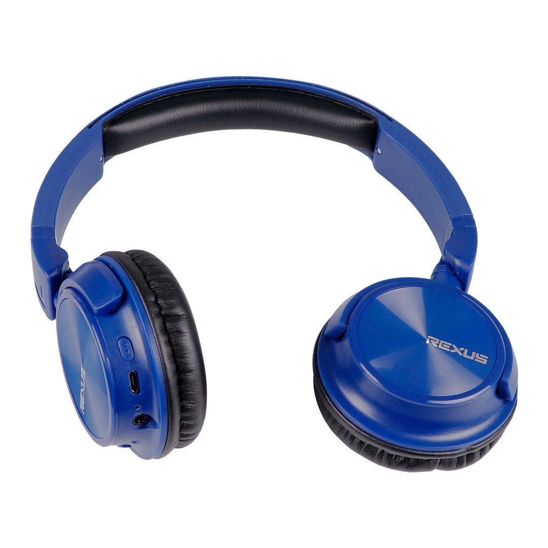 Headset Bluetooth Rexus Travello BT121 Blue