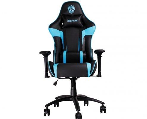kursi gaming rexus rgc111 biru mouse gaming wireless Rexus S5 Aviator RGC 111 Blue 01 495x400