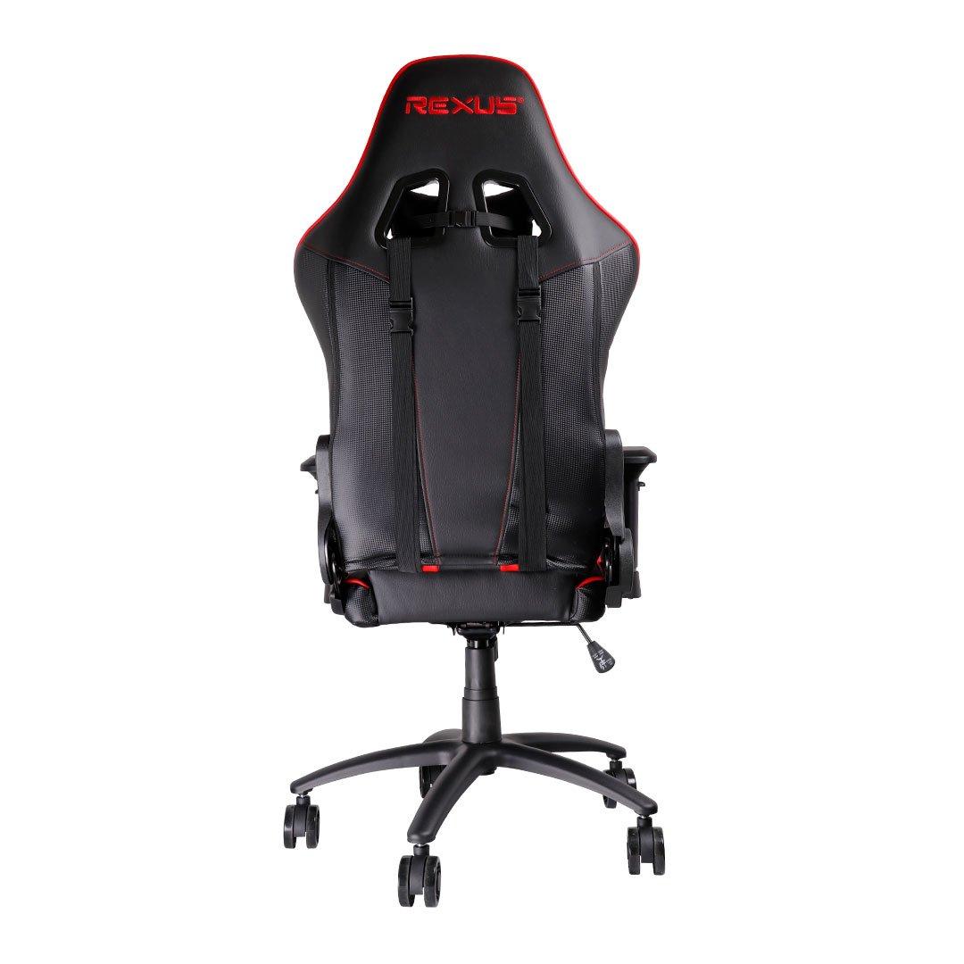 rgc111 back red kursi gaming Rexus Gaming Chair RGC 111 RGC 111 merah 02