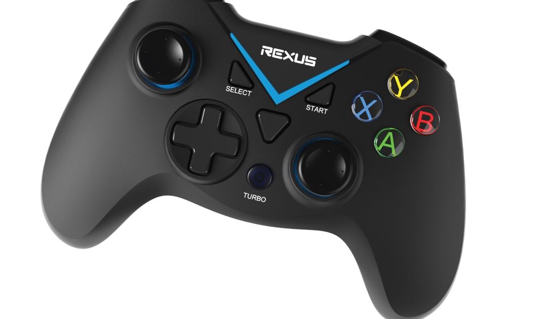 Gamepad Wireless Rexus Gladius X100 Top View gamepad Tips Memilih Gamepad Berkualitas untuk HP dan PC GX100 01 1080x630