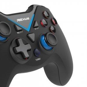 Gamepad Wireless Rexus Gladius X100 Closeup Button gamepad Wajib Tahu! Kelebihan Gamepad dan Perangkat Gaming Teknologi Bluetooth GX100 05 300x300