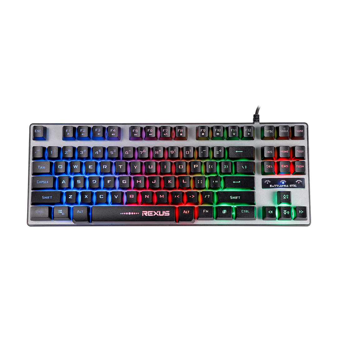 Keyboard Gaming Rexus Battlefire K9TKL RGB 1