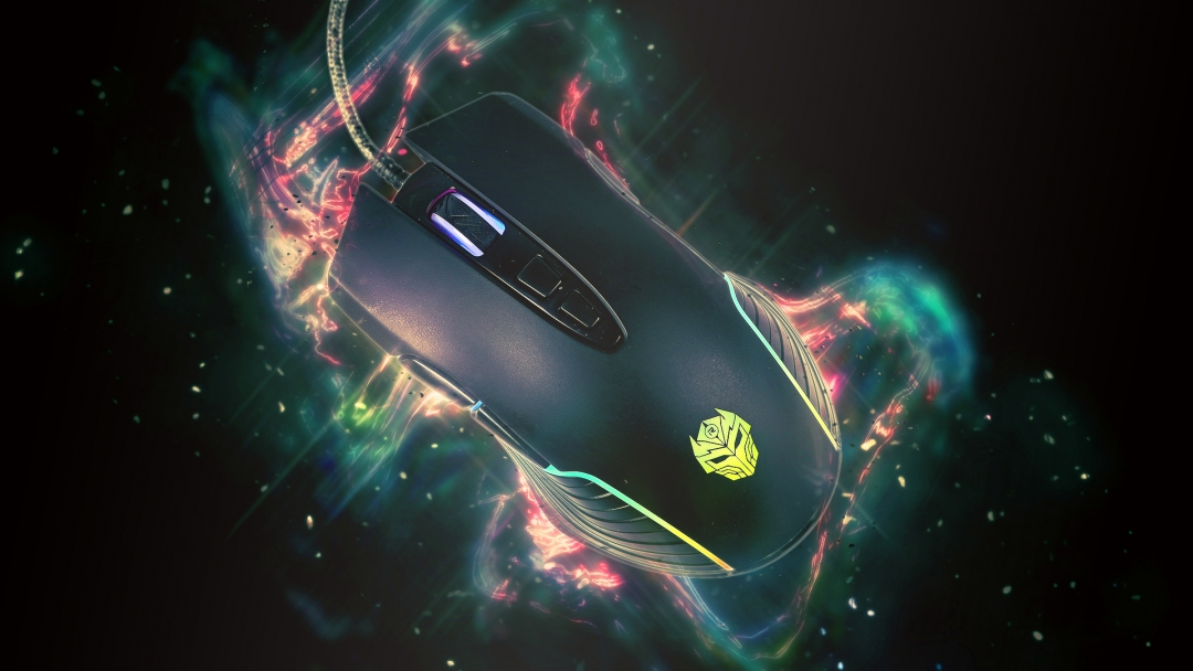 Mouse Gaming LED RGB