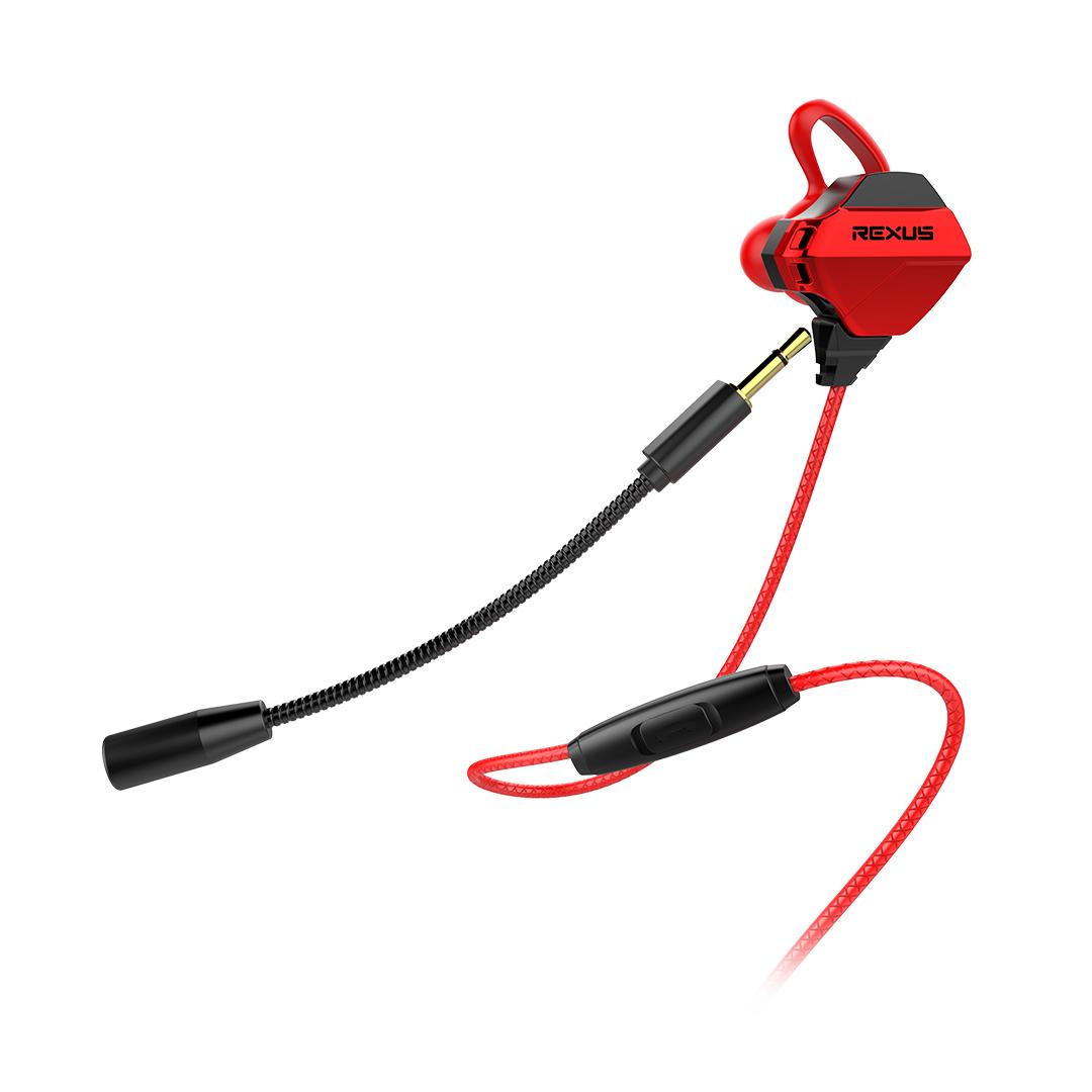 Earphone Rexus Vonix ME1 Detachable Microphone