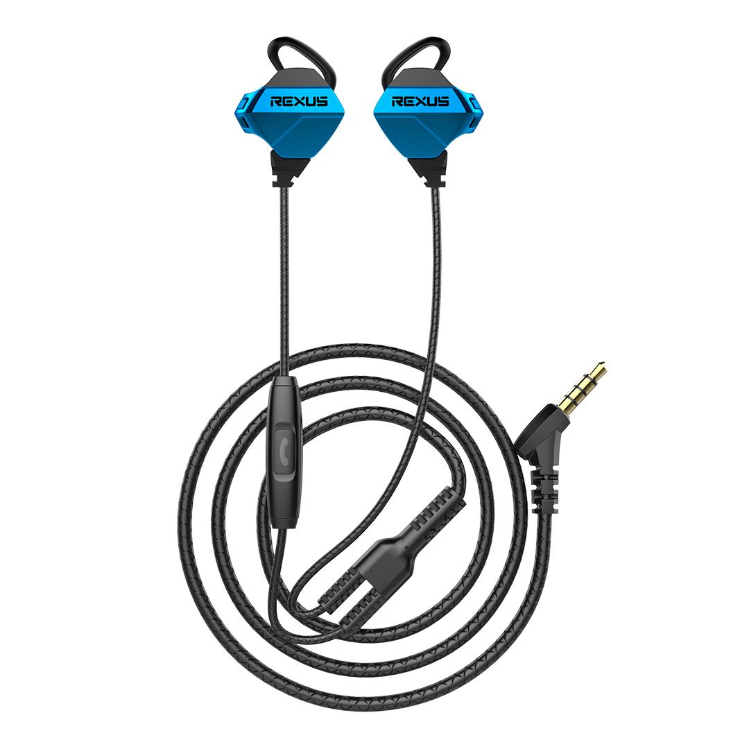 Gaming Earphone Rexus Vonix ME1 Blue