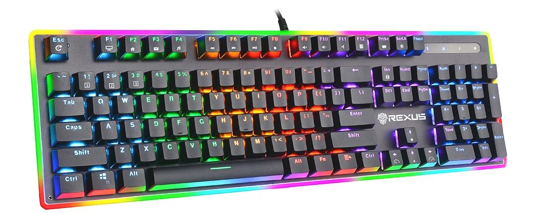 Keyboard Gaming Rexus Legionare MX10 Side View