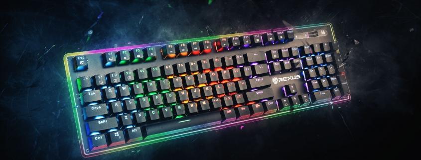 Keyboard Gaming Rexus Legionare MX10 Artwork