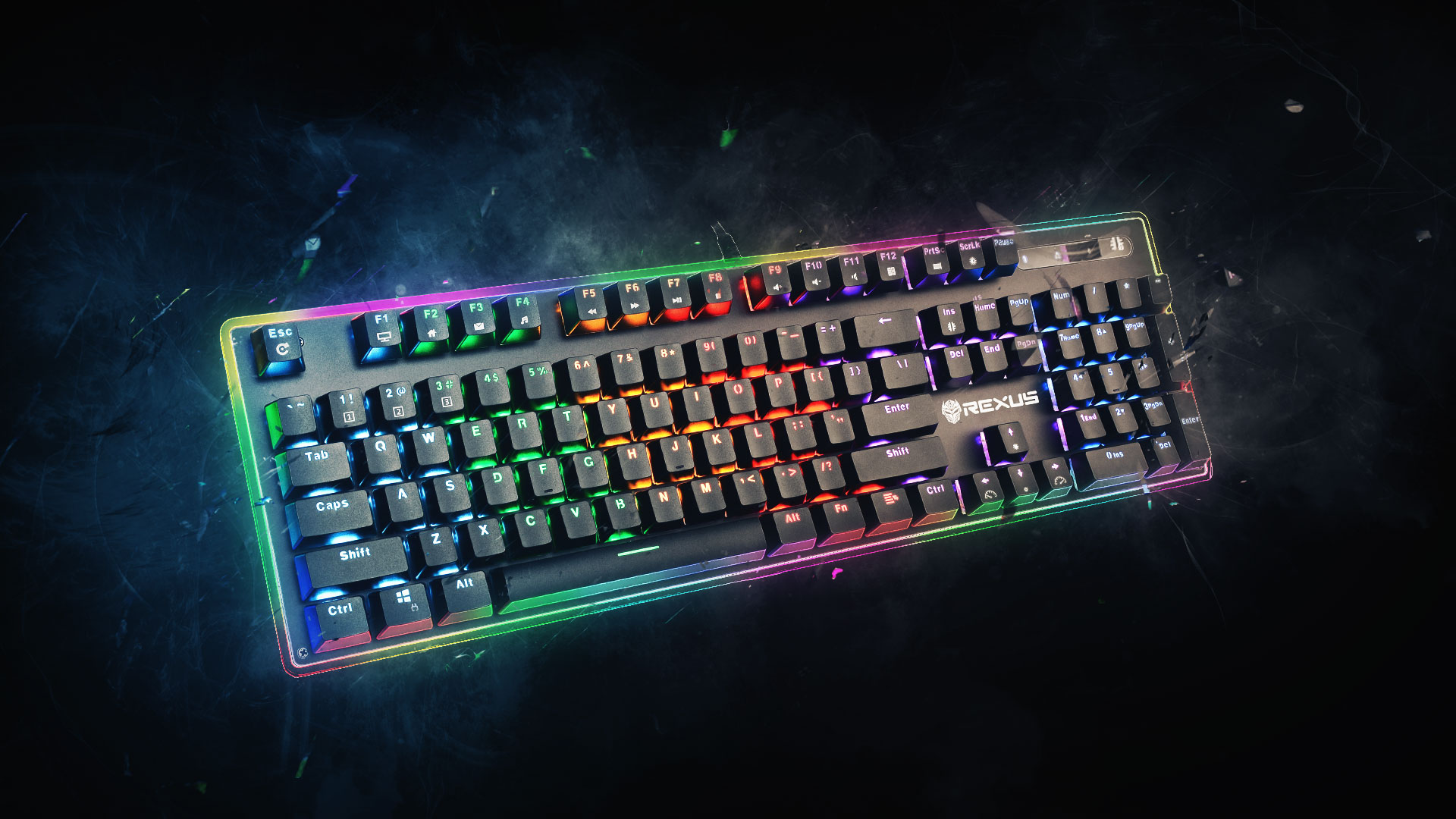 Keyboard Gaming Rexus Legionare MX10 Artwork  Rexus Indonesia | Made For Everyone MX10 06