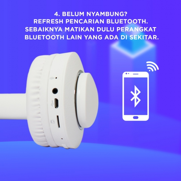 Refresh Pencarian Bluetooth