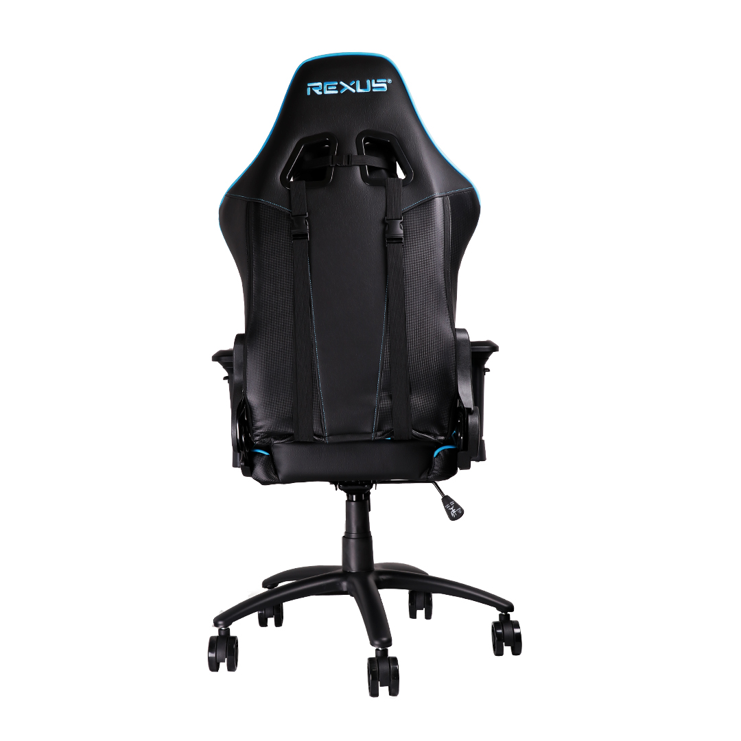 rgc111 blue back gaming chair Rexus Gaming Chair RGC 111 RGC 111 Blue 03