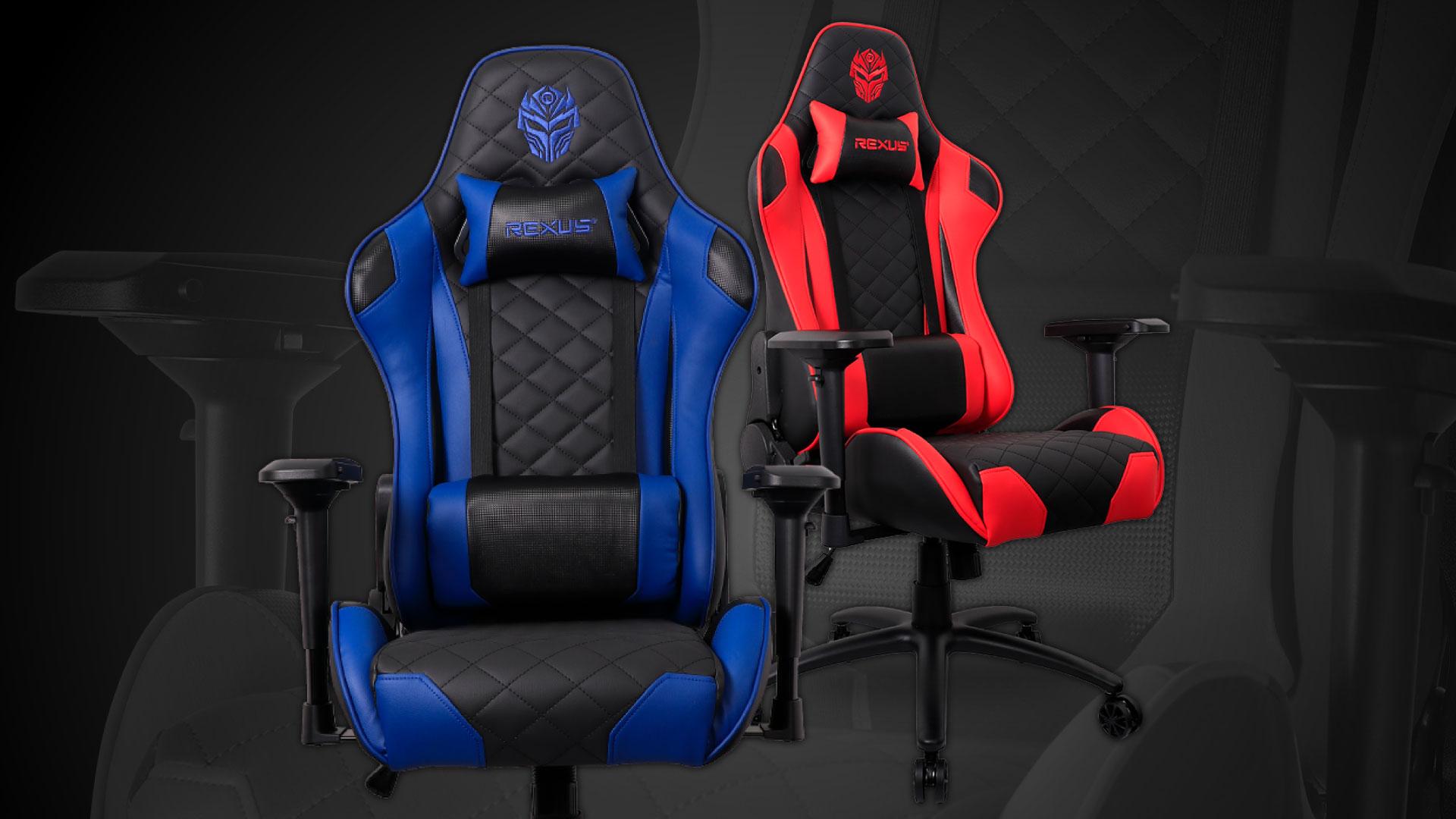 gaming chair Rexus Gaming Chair 101 v.2 WebLayout RGC 101 01