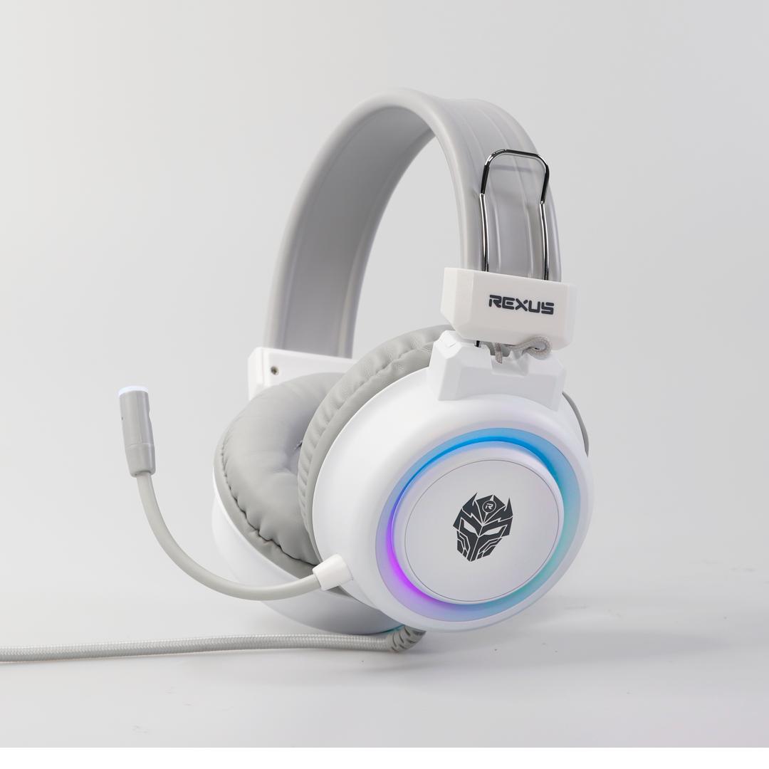 gaming headset Headset Gaming F30 white 1 gaming headset Headset Gaming F30 white 1