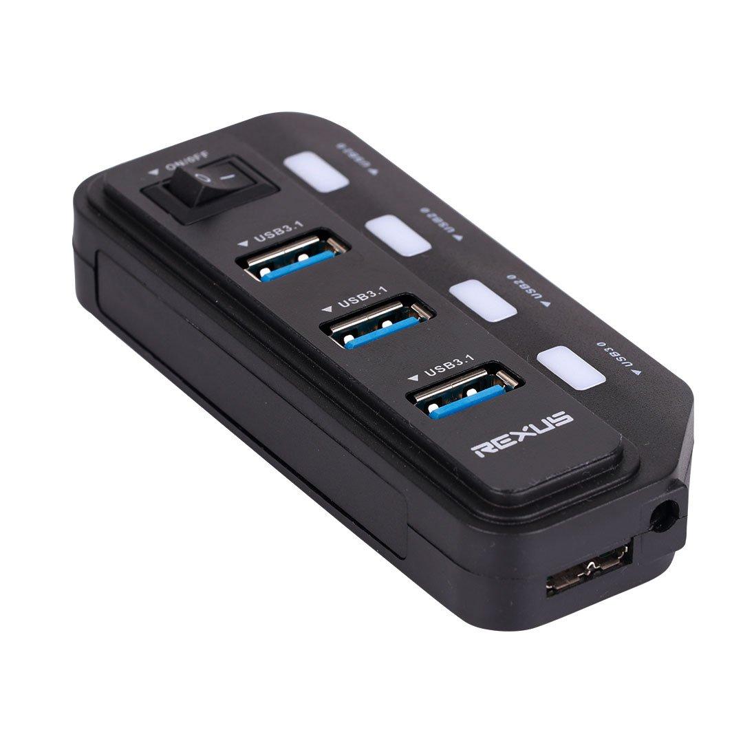 Rexus H332 usb hub Rexus RXH 332 – USB HUB H332 02