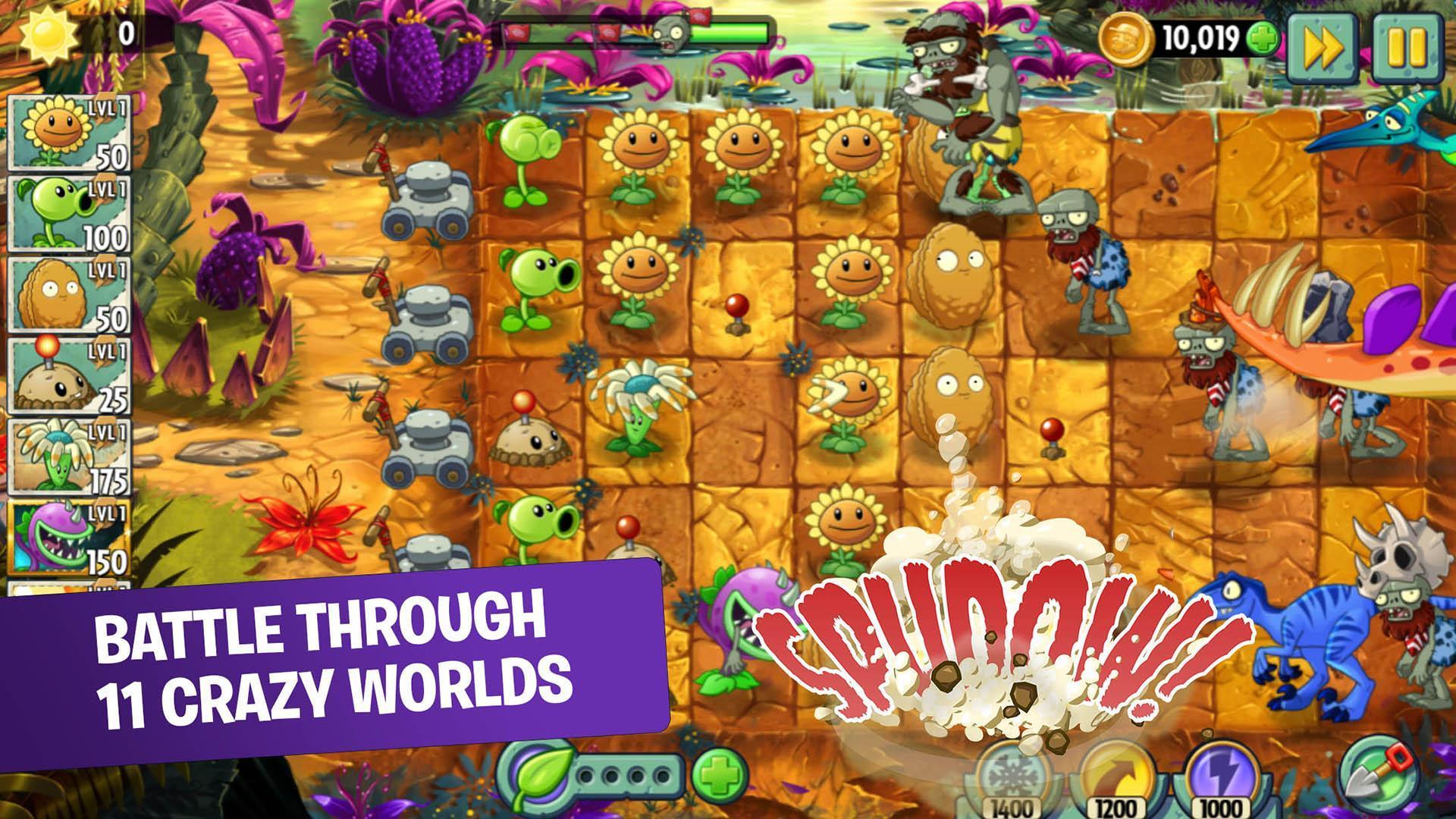 plants vs zombies 2 game offline 15 Rekomendasi Game Offline Android Terbaik 2020 Plants Vs Zombies 2