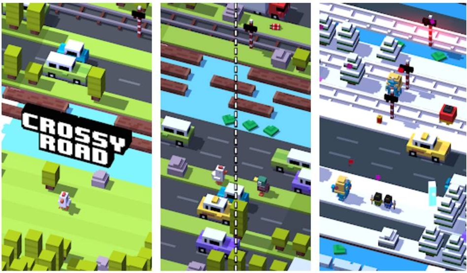 Game Offline Android Terbaik crossy road