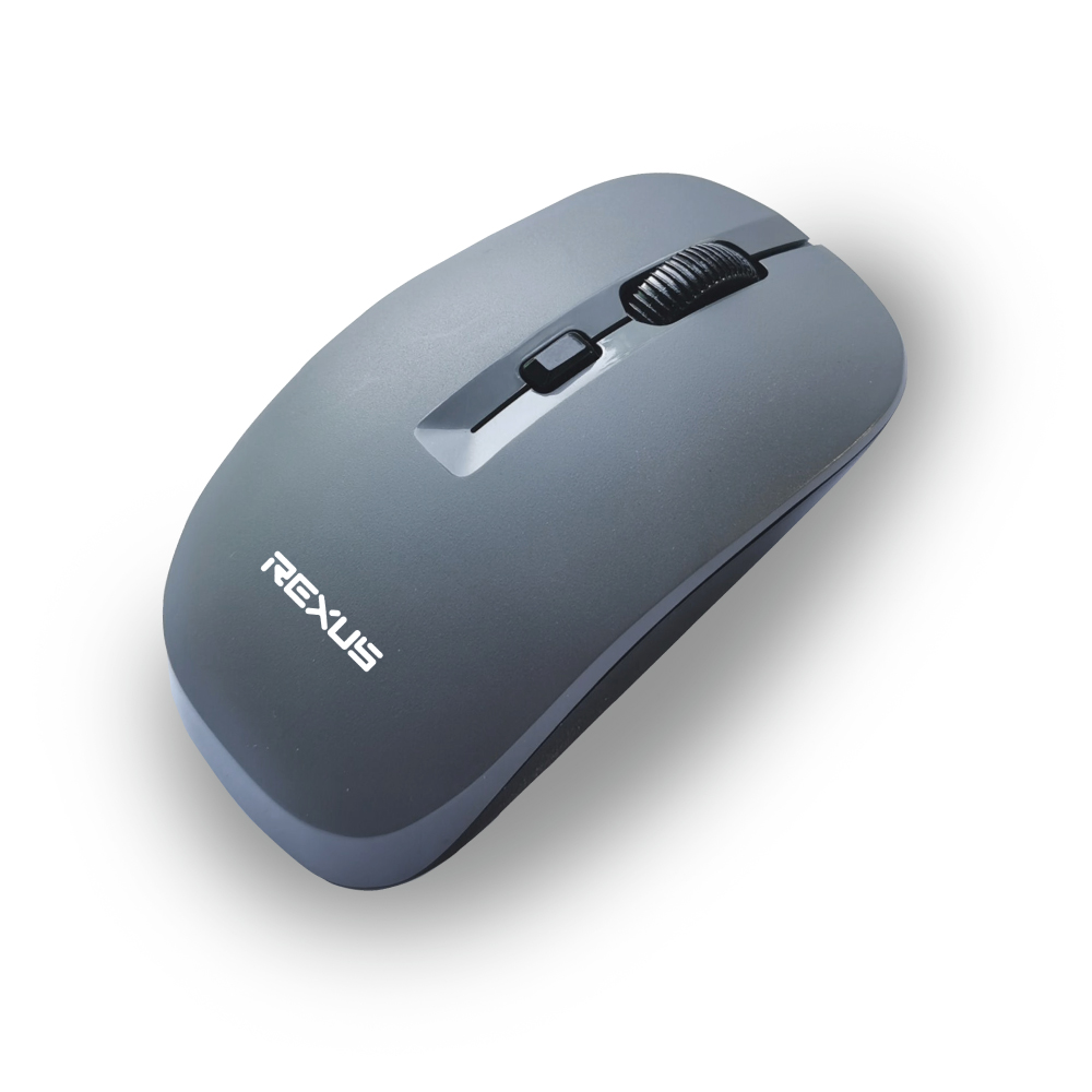 mouse nirkabel q20 gray mouse wireless Rexus Q20 Q20 01
