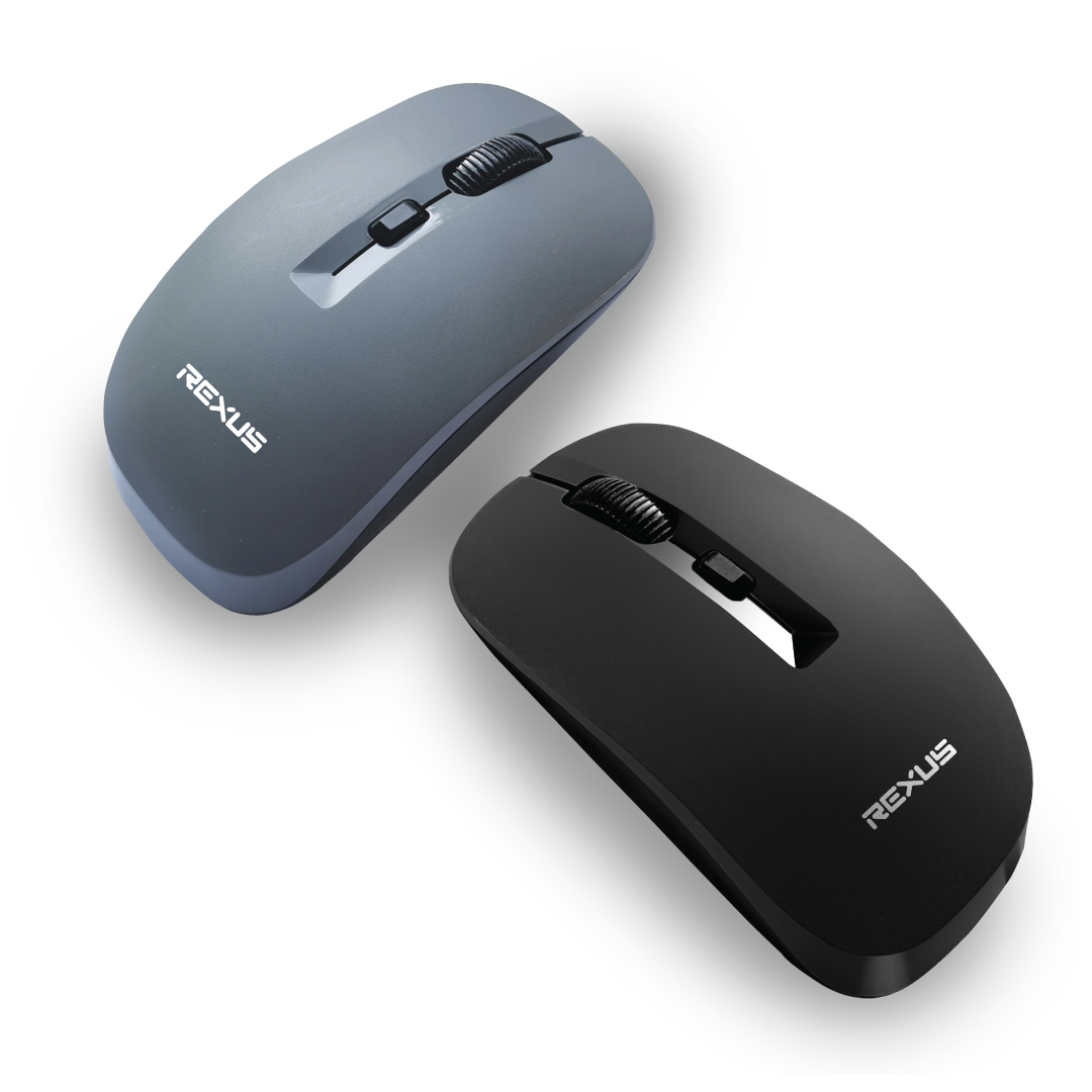 mouse wireless q20 black grey